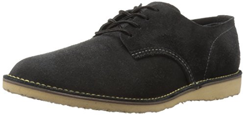 Image of the Red Wing Heritage Men's Weekender Oxford Work Shoe, Black Abilene, 8 US/8 D US