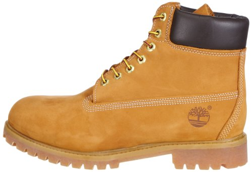 Image of the Timberland Men's 6 inch Premium Waterproof Boot,Wheat Nubuck,12 M US