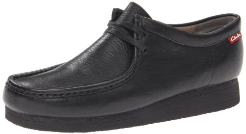 Image of the Clarks Men's Stinson Lo,Black Leather,8 M US