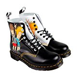 Image of the Dr. Martens Unisex Pascal Beavis Butt-Head 8 Eye Boots, Black, 8 M UK, M9/W10 M US