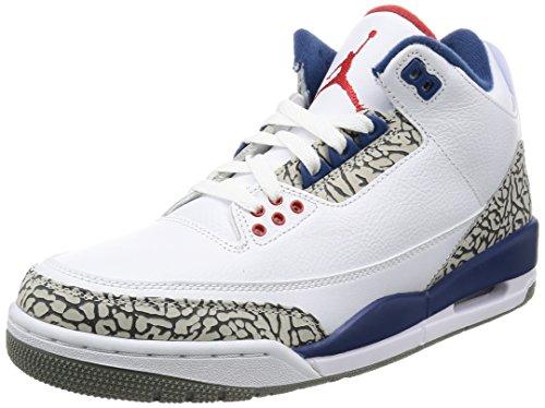 Image of the Nike Men's Air Jordan 3 Retro OG White - 10 D(M) US