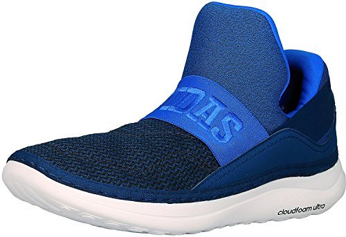 Image of the adidas Performance Men's Cloudfoam Ultra ZEN Walking Shoe, Blue/Dark Navy/White, 10 M US