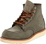 Image of the Red Wing Heritage Men's Classic Work 6-Inch Moc Toe Boot - Suede,Sage Mohave,8 D US