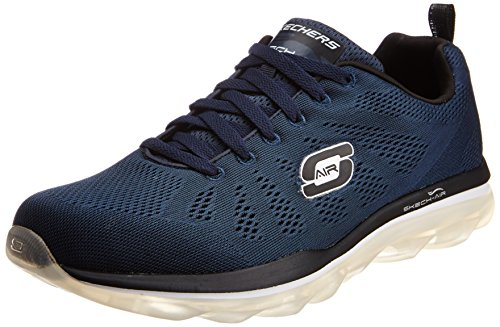 Image of the Skechers Sport Men's Skech Air Game Changer Oxford,Navy/Black,8.5 M US