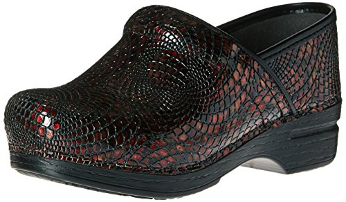 Image of the Dansko Women's Pro XP Mule, Burgundy Textured, 40 EU/9.5-10 M US