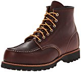 Image of the Red Wing Heritage Men's Six-Inch Moc Toe Lug Boot,Brown,10.5 D US