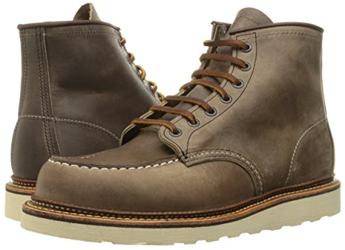 Image of the Red Wing Heritage Men's 6 Inch Moc Work Boot, Concrete Rough and Tough, 10.5 D US