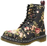 Image of the Dr. Martens Women's 1460 Re-Invented Victorian Print Black Victorian Flowers Lace Up Boot - 4 F(M) UK / 6 B(M) US