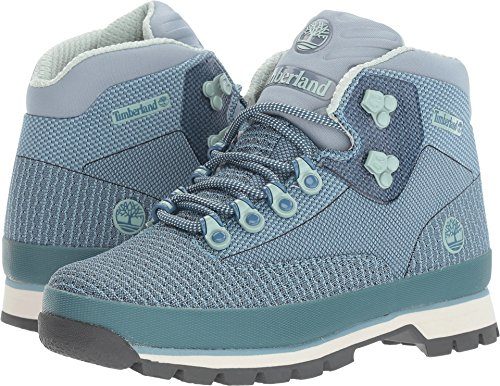 Image of the Timberland Women's Euro Hiker Jacquard Boot Stone Blue 9 B US