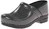 Image of the Dansko Women's Pro XP Mule,Black/White Check Patent,44 EU/10.5-11 M US