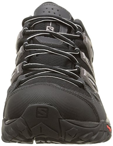 Image of the Salomon Men's Eskape GTX Hiking Shoe,Black/Asphalt/Aluminum,7 M US