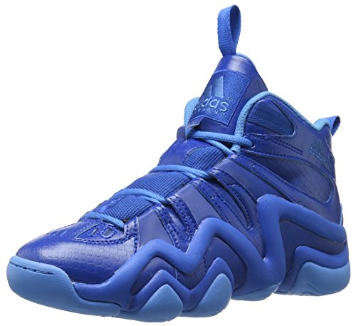 Image of the adidas Performance Men's Crazy 8 Basketball Shoe, Blue/Collegiate Royal/Ray Blue Fabric, 9.5 M US