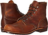 Image of the Red Wing Heritage Men's Iron Ranger Work Boot, Copper Rough and Tough, 8.5 D US