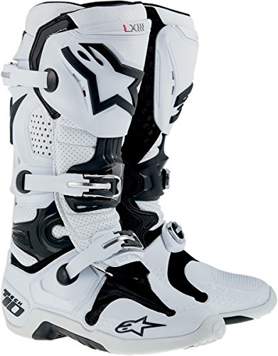 Image of the Alpinestars Tech 10 Boots-White-12