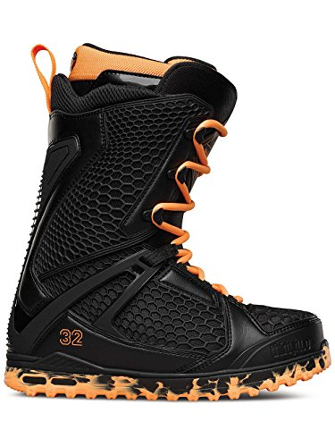 Image of the Thirtytwo Team Two Stevens Snowboard Boots, Black/Orange, Size 7.5