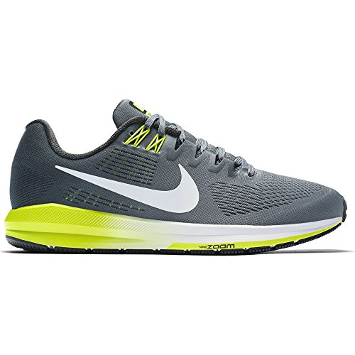 Image of the NIKE Men's Air Zoom Structure 21 Cool/Grey/White/Anthracite Running Shoe 11 Men US