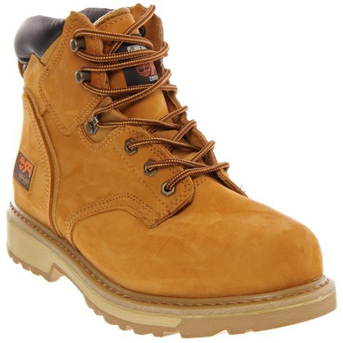 Image of the Timberland Men's PRO Pit Boss Work Boot Steel Toe Wheat 12 EE 12 EE US