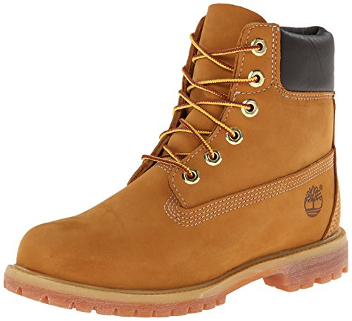 Image of the Timberland Women's 6-Inch Premium Boot,Wheat,7 B(M) US
